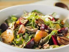 Get Roasted Beet Salad Recipe from Food Network