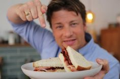 He had us at bacon.  Jamie makes the Perfect Bacon Sandwich