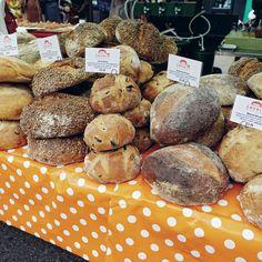 Breads aplenty at Broadway Market; photos courtesy of Insider London.