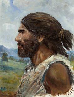 Upper Paleolithic Homo sapiens from the last Ice Age of Eastern Europe by Petr Modlitba