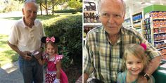 """4-Year-Old Greets """"Old Person"""" at the Grocery Store, Now They're Best Friends"""