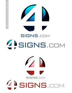 4signs.com Logo Design
