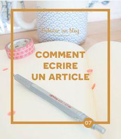 Débuter un blog: Comment écrire un article