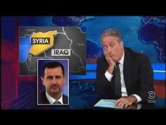 JON STEWART TAKES OBAMA APART --  Jon Stewart harnesses of Obama about the Red Line from Syria [...] 09/03/13