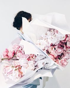 roses and orchids in beautiful pink and white hues