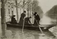 The Great Flood of Paris, 1910