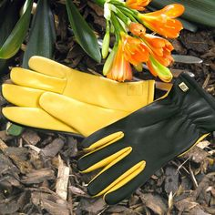 Gold Leaf Gardening Gloves - you & you'll get style, comfort, dexterity and durability from Gold Leaf Gardening Gloves - and when you consider the technology and materials employed in making gloves for professional skiers