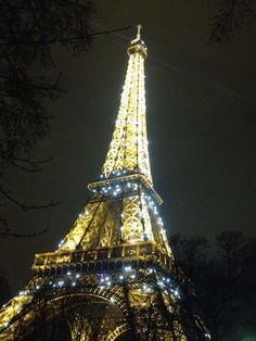 Night View Eiffel Tower | Client Relationships | Digital Strategy | Digital Marketing | Simon ...