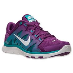 Women's Nike Flex Supreme 2 Training Shoes| FinishLine.com | Bright Grape/Pure Platinum/Tribe Green