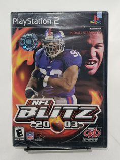 Nfl Blitz, Michael Strahan, Game Sales, Free Items, Playstation, Sony, Baseball Cards, Tracking Number, Games