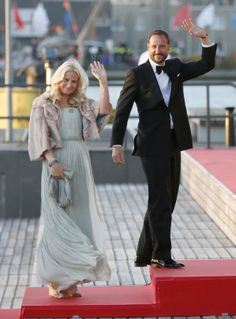 Princess Mette-Marit & Prince Haakon of Norway