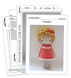 Coralie  Crochet Pattern by Amour Fou
