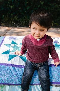 WILLIAM by Joah Love. Classic Sweater for your little guy!  $48.00