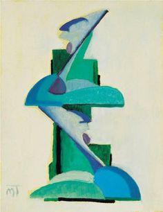 Composition 1925 - Janos Mattis-Teutsch