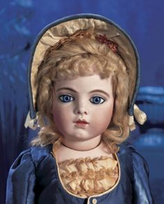 Magnifique! Family Dolls of Mildred Seeley: 1 French Bisque Bebe by Leon Casimir Bru