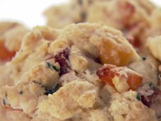 Apricot and Salami Scones
