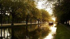 Dublin, Ireland, Baggot Street Bridge, Grand Canal, Patrick Kavanagh