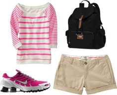 """CUTE hiking outfit."" by emilythiessen on Polyvore"