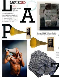 Lápiz : revista internacional de arte. Nº280 Sumario: http://biblioteca.iednetwork.com/files/2013/11/Lapiz-sumario.pdf Na biblioteca: http://kmelot.biblioteca.udc.es/record=b1178592~S1*gag