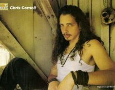 Picture of Chris Cornell Chris Cornell Young, Feeling Minnesota, Grunge, Temple Of The Dog, Smiling Man, Most Beautiful Man, Say Hello, Heavy Metal, Going Out