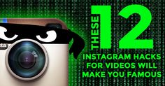Wondering how to be famous on Instagram? It's easy! Just use these 12 Instagram video hacks to create captivating 15-sec videos - and you'll be on your way!