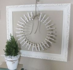 Fern Creek Cottage: Christmas Card Holder Wreath