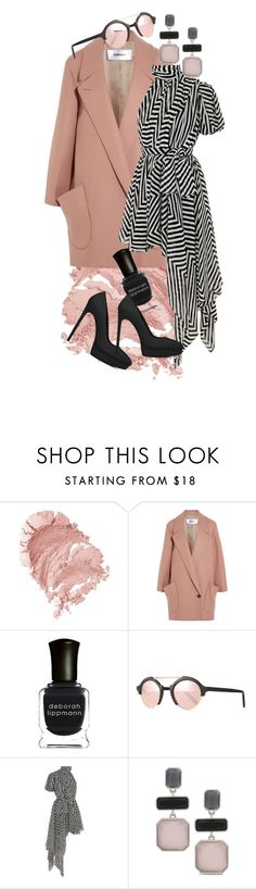 """""""Pink'n'black baby"""" by fallinginlovewithlove on Polyvore featuring Chalayan, Deborah Lippmann, Illesteva, Yves Saint Laurent and Chico's"""