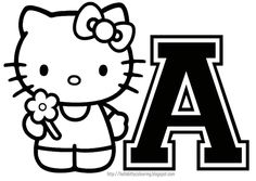 HELLO KITTY COLORING PAGES  Illustration  Design  Pinterest