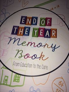 Free Memory Book for Primary Grades - Education to the Core