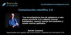 Charla con Xavier Lasauca sobre comunicación científica 2.0. #RedesSociales #ComunicaciónCientífica