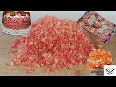 Hey everyone in today's video I show you how to make the crumble for the Strawberry Crunch Cake and this recipe is universal and can be used to make any flav. Strawberry Crumble Recipe, Strawberry Crunch Cake, Strawberry Shortcake Cheesecake, Homemade Strawberry Shortcake, Strawberry Recipes, Sour Cream, Oreo, Crunch Recipe, Desert Recipes