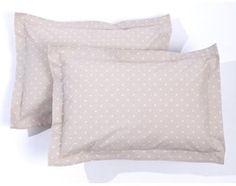Poszewka na poduszkę z nadrukiem gwiazdki, dla niemowlęcia (komplet 2 szt.)