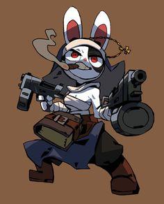 Character Art, Character Design, Artist Gallery, Costume Design, Kawaii Anime, Bunny, Fan Art, Superhero, Twitter