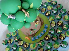 madagascar cupcakes