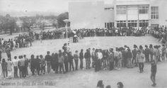 """Escola Secundária de Rio Maior, na década de 1980. Foto: Jornal """"Região de Rio Maior""""   Portugal"""