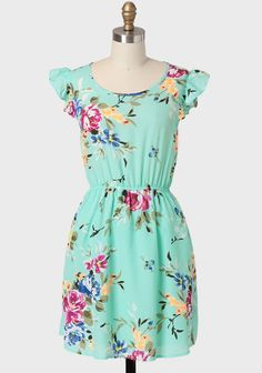 Goodness Gracious Floral Dress at ShopRuche.com floral and mint?