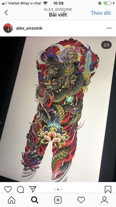 Traditional Japanese Tattoos, Japanese Tattoo Designs, Japan Tattoo, Irezumi, Coke, Samurai, Buddha, Dragon, Artwork