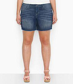 Levis Plus Cutt Off Shorts #Dillards