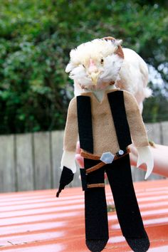 Hen Solo Chicken Costume by MuchAdoAboutCluckin on Etsy
