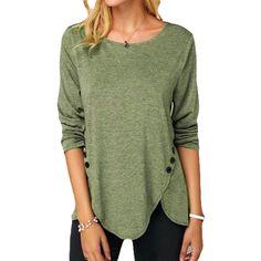 MANDDI Womens Basic V Neck Zipper Short Sleeve T Shirts Summer Casual Loose Tops Blouse Plus Size