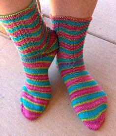 Ravelry: pgprcrst8n's Spring Fans Socks