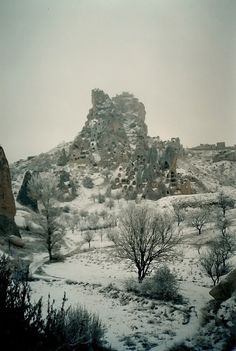 Uchisar Castle - Uchisar, Nevsehir, Turkey Copyright: simon tyne