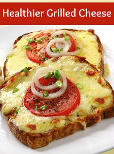 healthier grilled cheese recipe