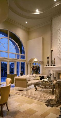 What a grand room!