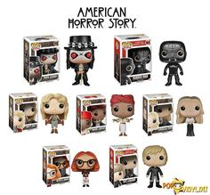 American Horror Story Funko POP's  - except for the 1st 2...no Rubber Man for me....or Papa Legba...