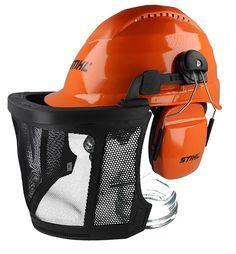 1657191942b Genuine STIHL AERO Light Chainsaw Safety Helmet 0000 884 0141