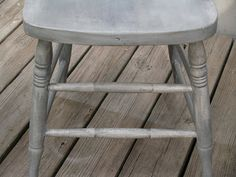 Nancy Fishelson Inspired French Gray Chair Refinish and Tutorial