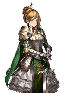 Detailed character information on Astrid in Brown Dust, including skills, stats, and more. Dnd Characters, Fantasy Characters, Female Characters, Female Character Design, Character Concept, Character Art, Female Armor, Female Knight, Female Orc
