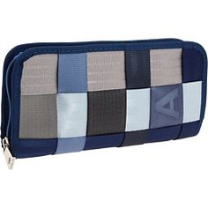 Looking for a proper wallet. Blue Jeans Clutch from Harveys.