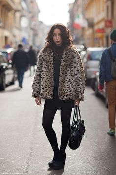 Why am I obsessed with leopard jackets?